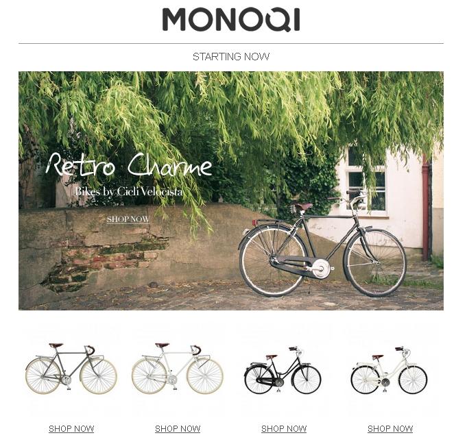 Velocista und MONOQI
