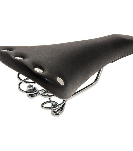 Sattel retro Sport schwarz