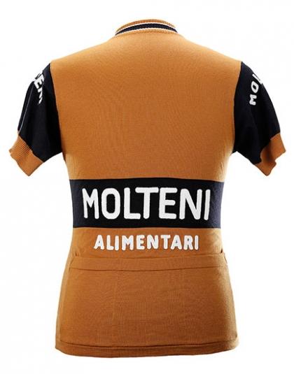 Eddy Merckx Molteni Team 1974 Kurzarm Jersey